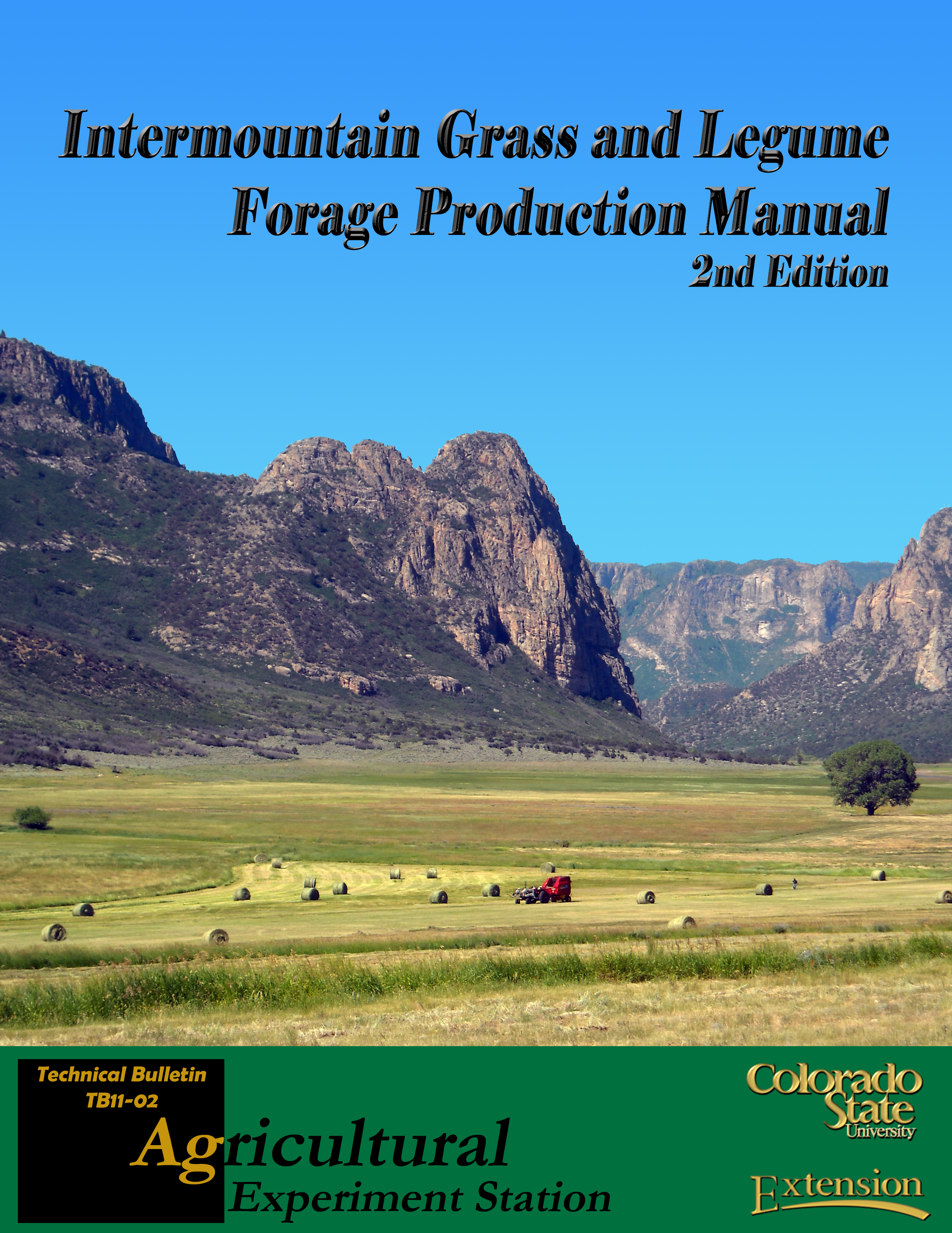 Cover for Forage Manual